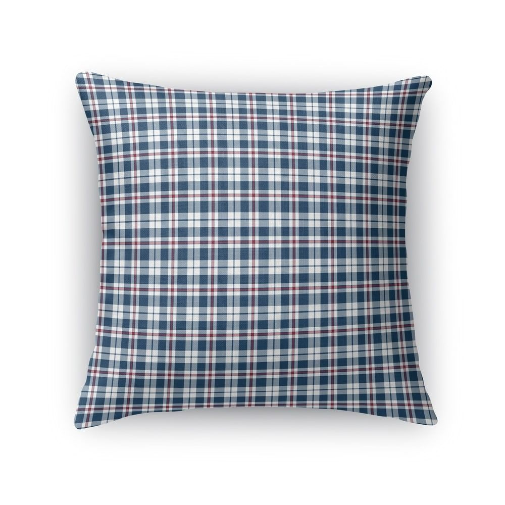 Best Plaid Navy Accent Pillow By Kavka Designs In 2020 Plaid 400 x 300