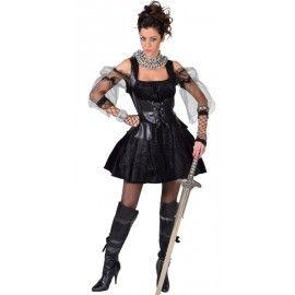 Déguisement guerrière femme luxe