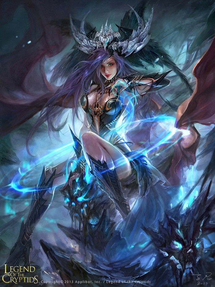 20 best sexiest Legend of the Cryptids fantasy digital illustrations