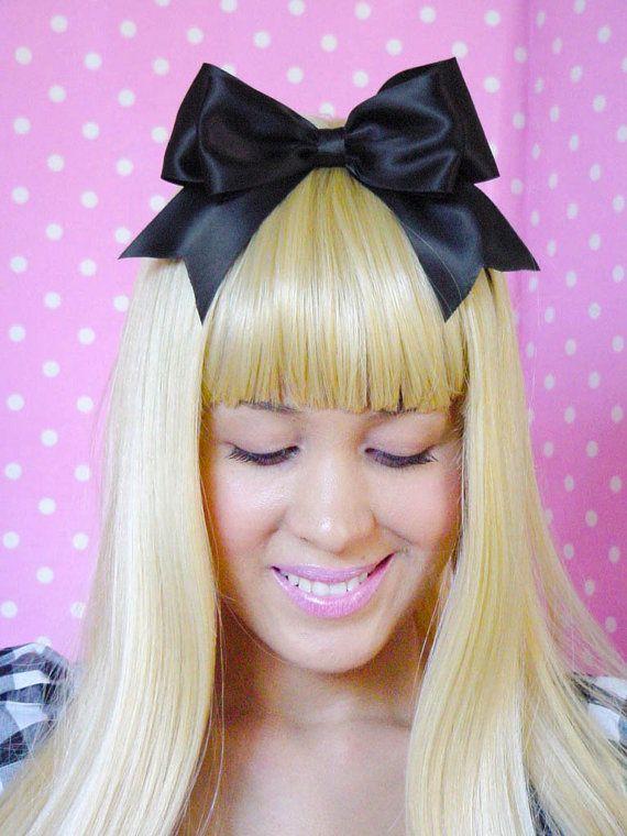 Alice in Wonderland Bow Alice in Wonderland Halloween by
