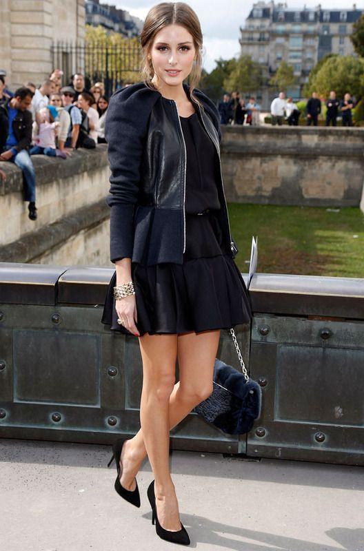 f86e86977ef4 Olivia Palermo no quiso perderse la presentación de Raf Simons para  Christian Dior y lo hizo con su habitual estilo elegante y chic.