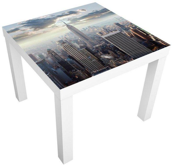 Werbung Bilderwelten Mobelfolie Fur Ikea Lack Sonnenaufgang In New