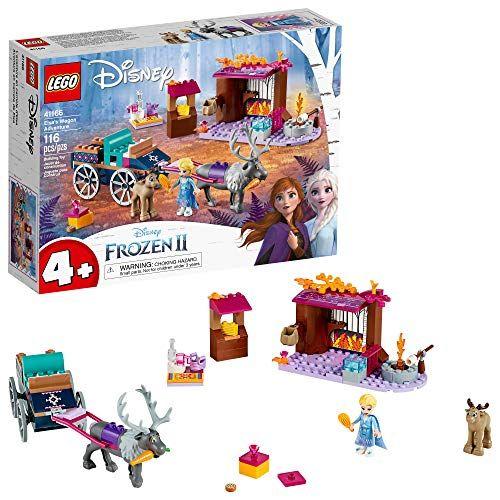 LEGO Disney Frozen II Elsas Wagon Carriage Adventure 41166 Building Kit with Elsa  Sve
