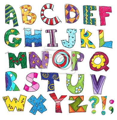 alphabet gratuit en couleur à imprimer - Recherche Google ...