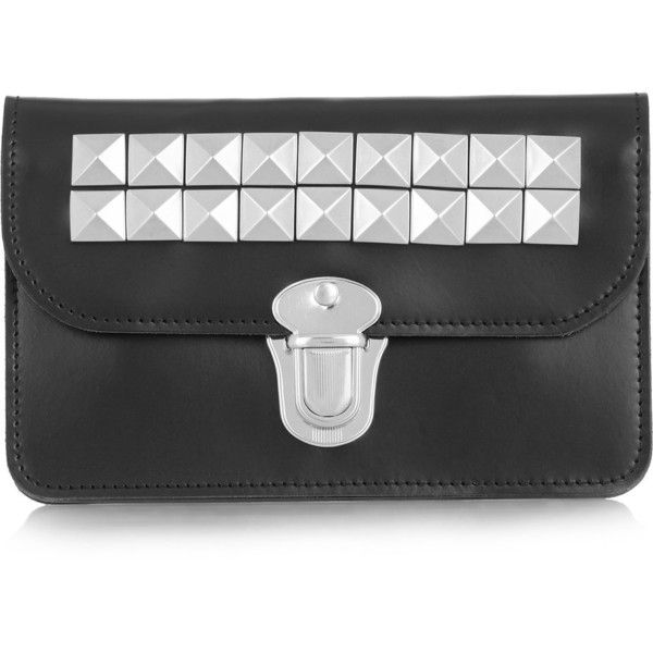 White Leather Studded Wallet Comme Des Gar?ons fa80c