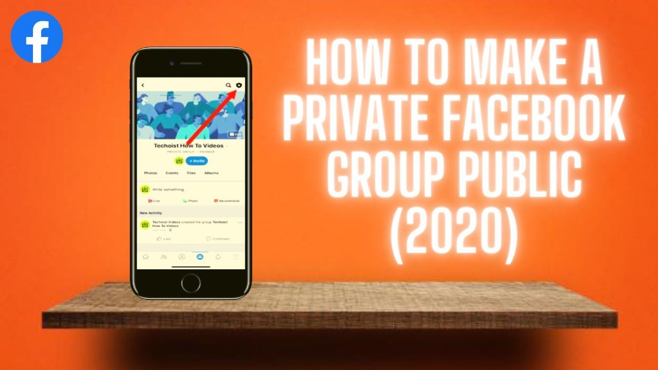 How To Make A Private Facebook Group Public (2020) Change