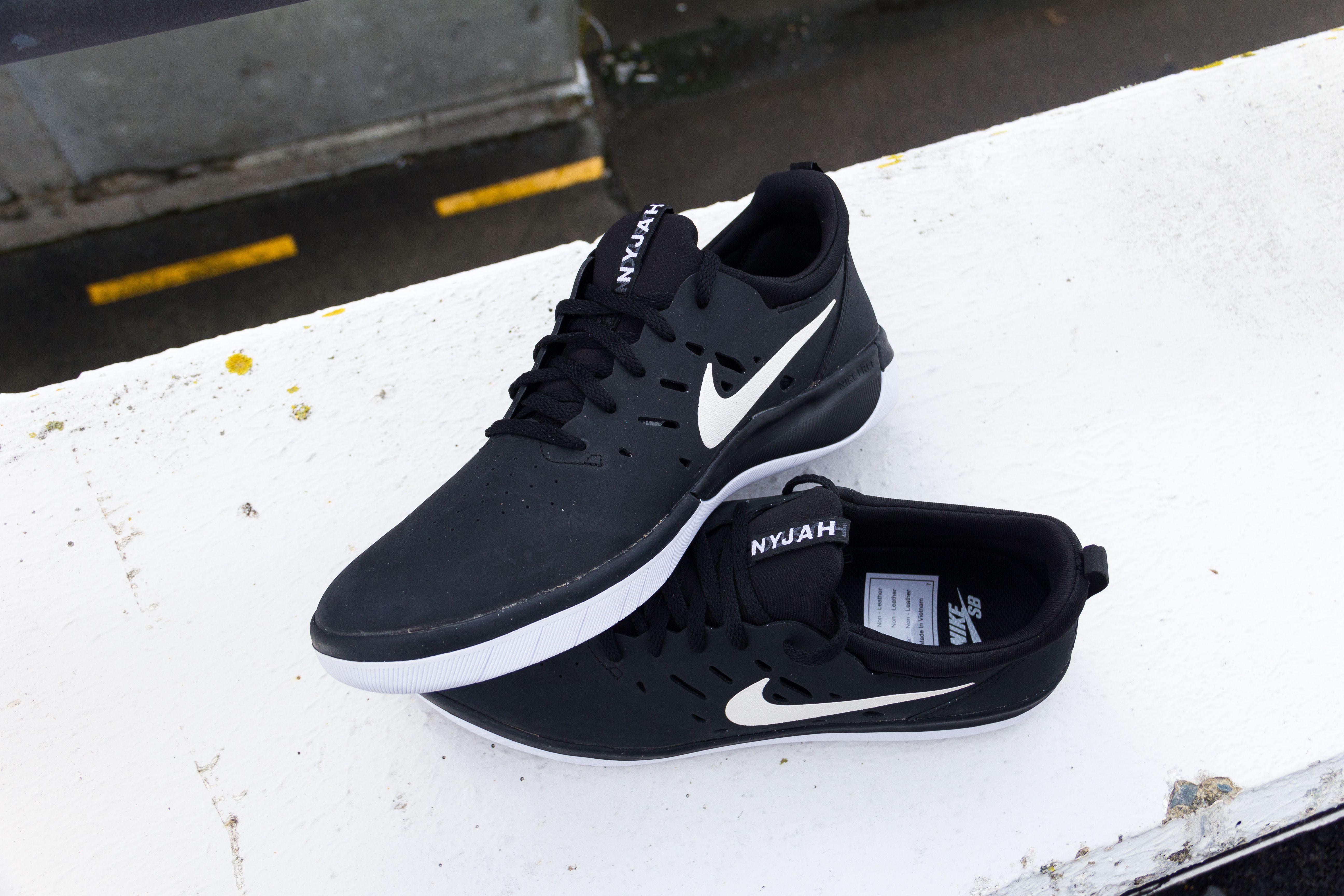 Nike SB Nyjah Free Black Shoe  dcf3dcdff