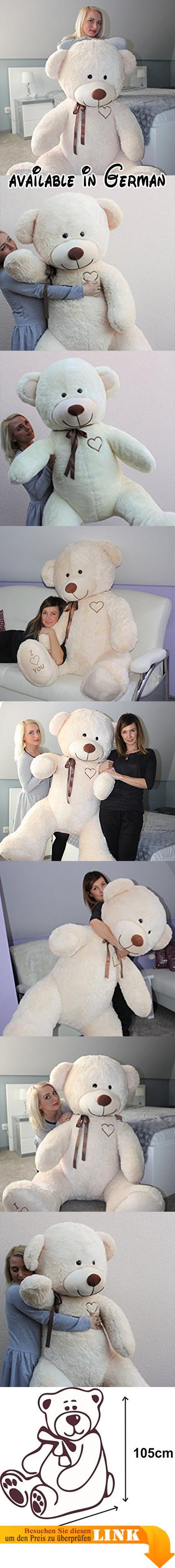 B01MU9NFGM : Teddybär Plüschbär Kuscheltier Stofftier Schmusebär ...