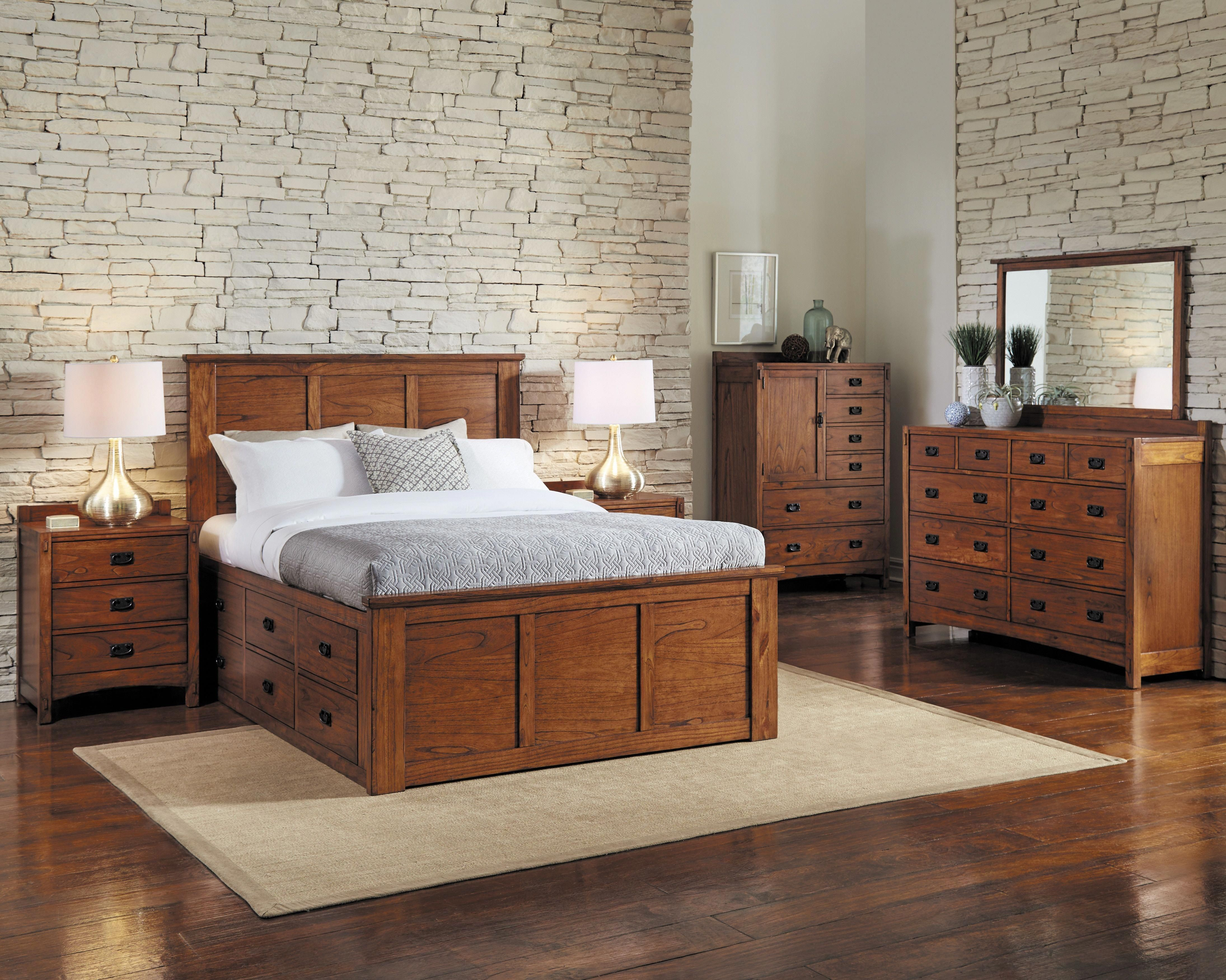 Günstiges Schlafzimmer Set #4pc #bedroom #queen #ridgecrest #storage In 2020 ...