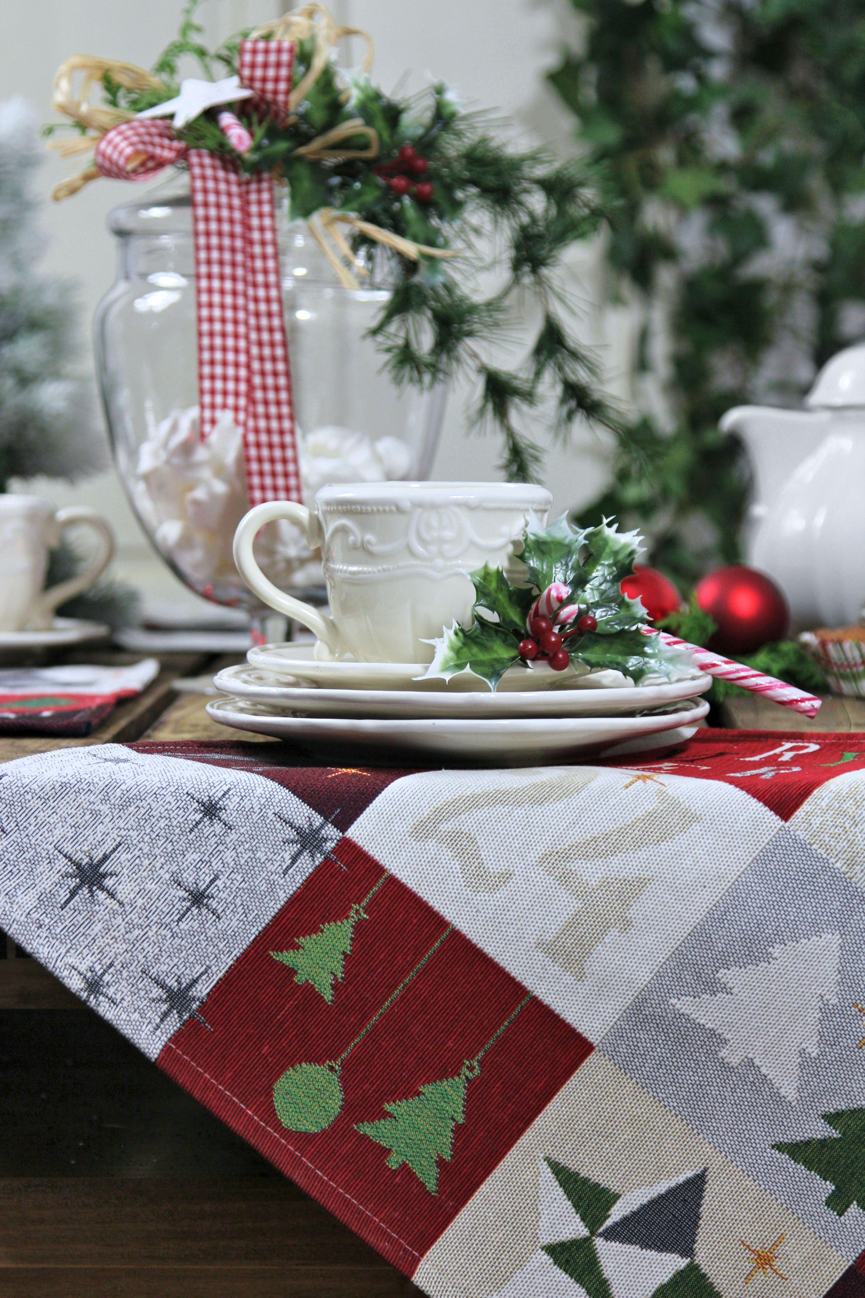 weihnachtstischsets von sander weihnachtsdeko. Black Bedroom Furniture Sets. Home Design Ideas