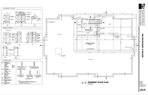 Construction Document Examples Jill Sornson Kurtz Archinect Construction Documents Construction Drawings Floor Plans