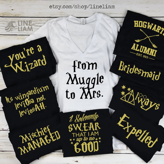 6bbb21a85774 BRIDE BLOWOUT muggle to mrs shirt, wizard shirt, bachelorette shirts,  bridesmaid…