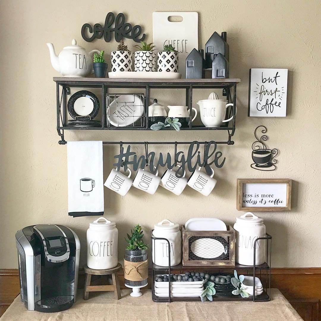 Image May Contain Table And Indoor With Images Coffee Bar Home