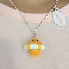 Sanrio Gudetama Lazy Egg Necklace