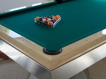 Key Largo Modern Family Room Miami Mitchell Pool Tables - Pool table key