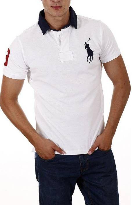 c580f8a42 ... norway polos ralph lauren polo hombre ralph lauren custom fit big pony polo  blanco. f3aba