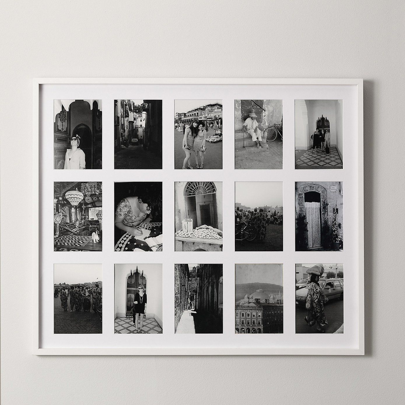 Photo Frames - White & Silver Picture Frames