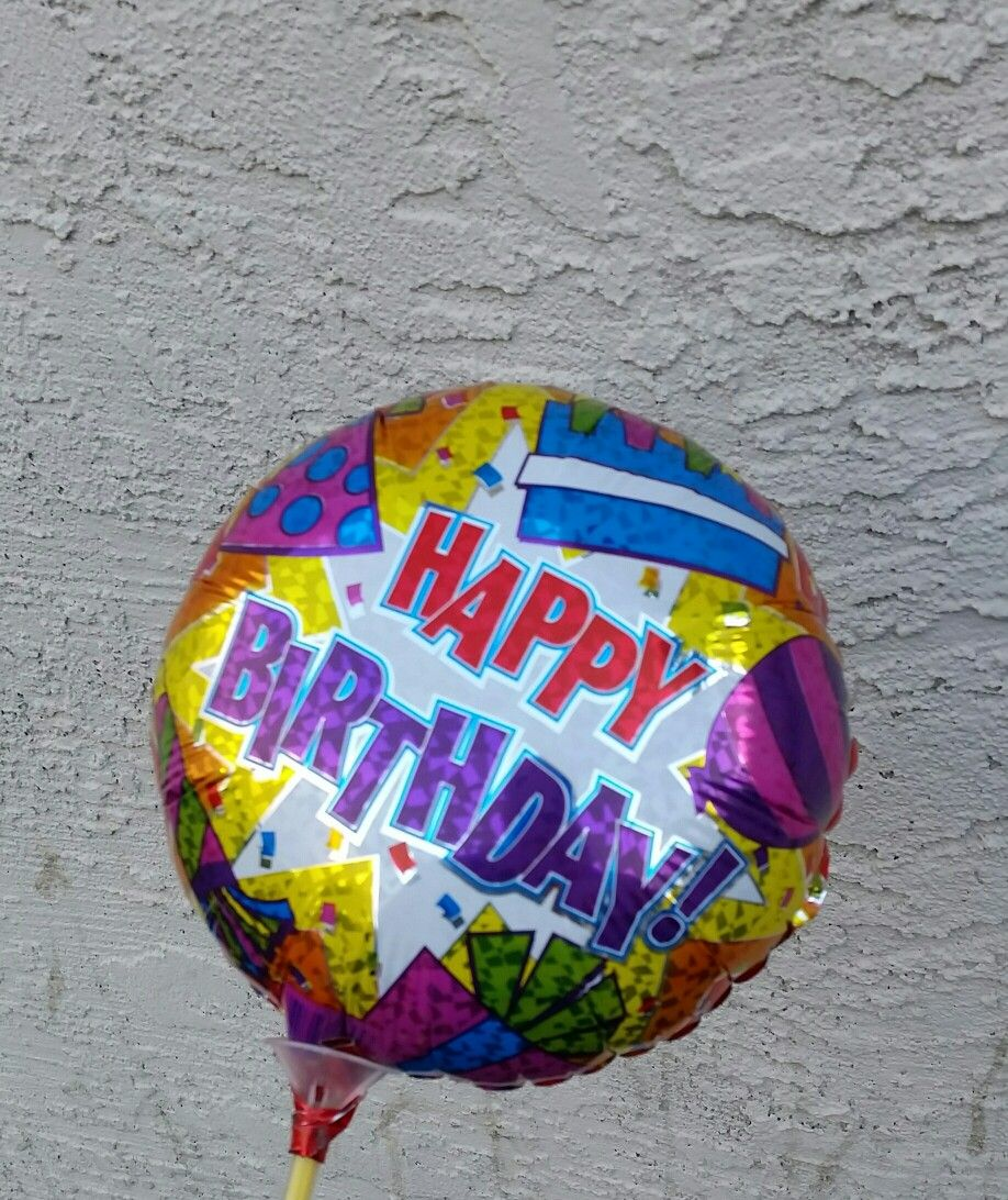 Happy Birthday Balloon Balloons Dollar Stores Gifts Year Anniversary