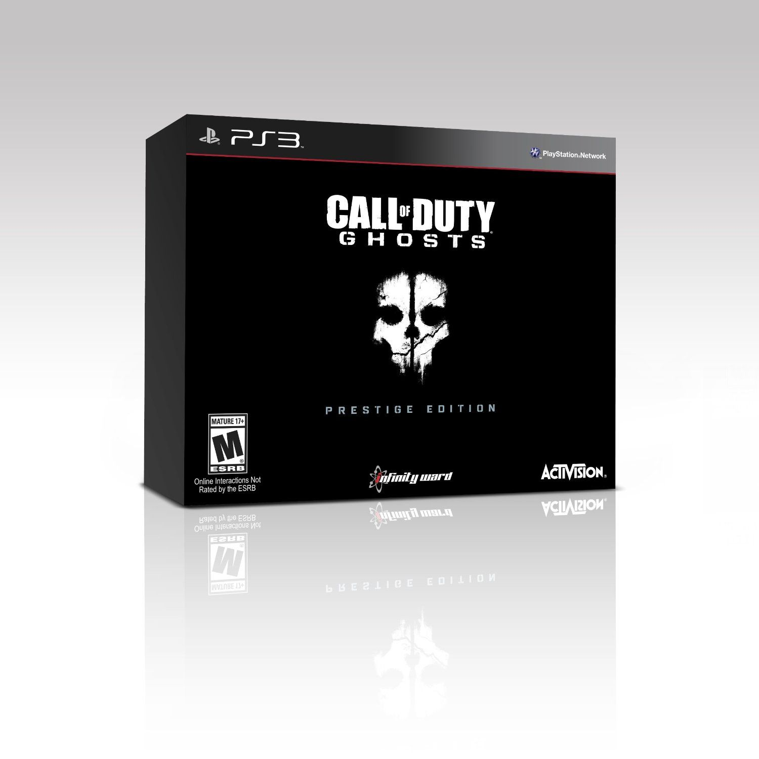 Call Of Duty: Ghosts Prestige Edition (PS3) $49.40