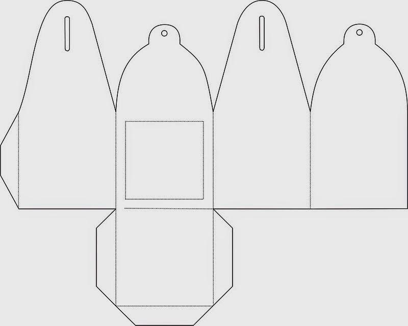Moldes Gratis de Cajas para Fiestas Ideas y material gratis - gift box template free