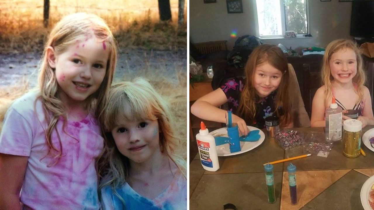 Humboldt county missing 5yearold and 8yearold sisters