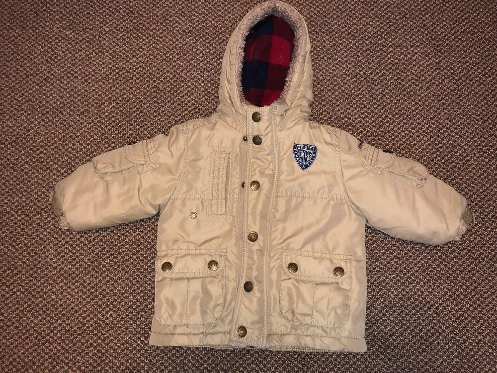 728c97fcc Toddler Boys Oshkosh Winter Jacket Coat Snow Size 18 Months  fashion ...