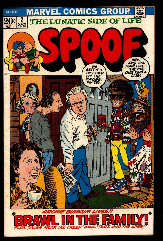 John persons comics for sale - Marvel Comics Spoof 2 Marie John Severin All In The Family Tarzan Hitler Peanuts Ec