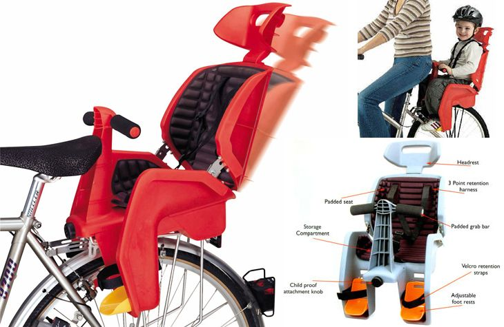 Beto Safety First Deluxe Child Seat Kids Seating Bicycle Child Seats Children