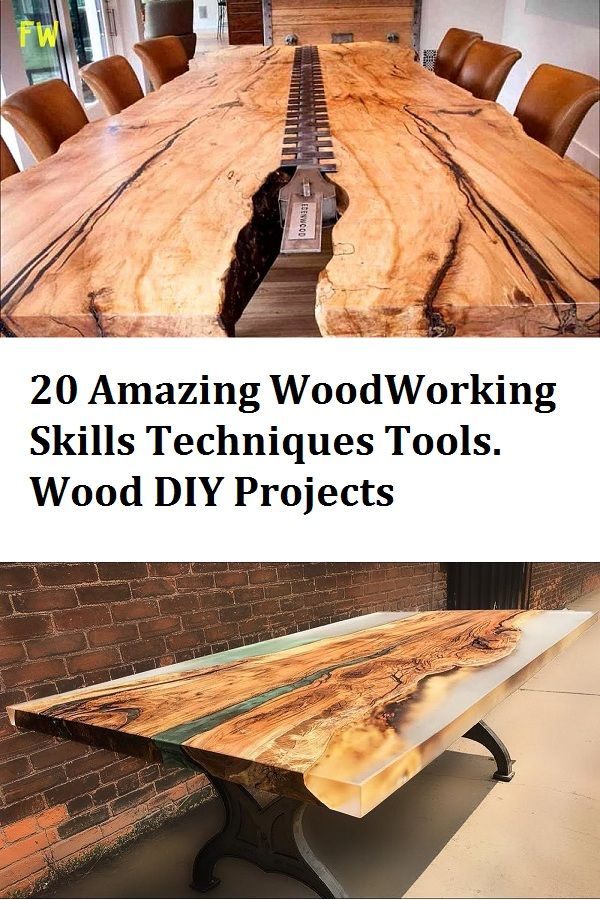 20 Amazing Woodworking Projects