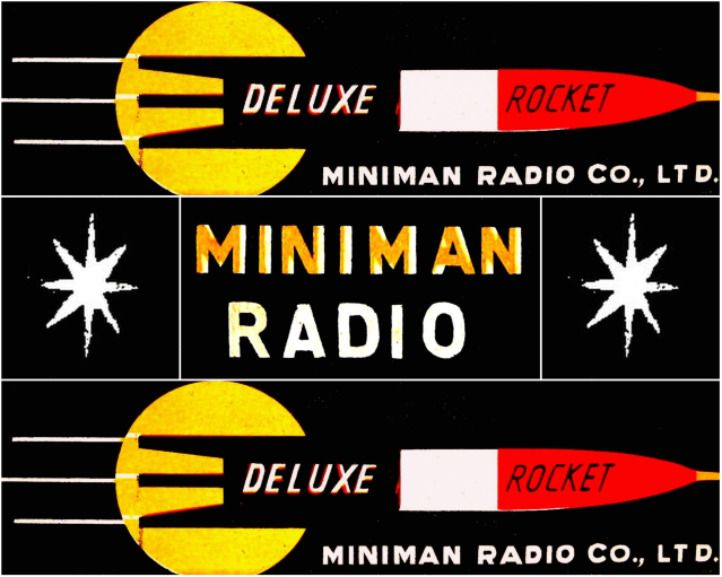ROCKET RADIO MG-306 - Focusing on the design of pocket transistor radios manufactured during the 1950's & 1960's!