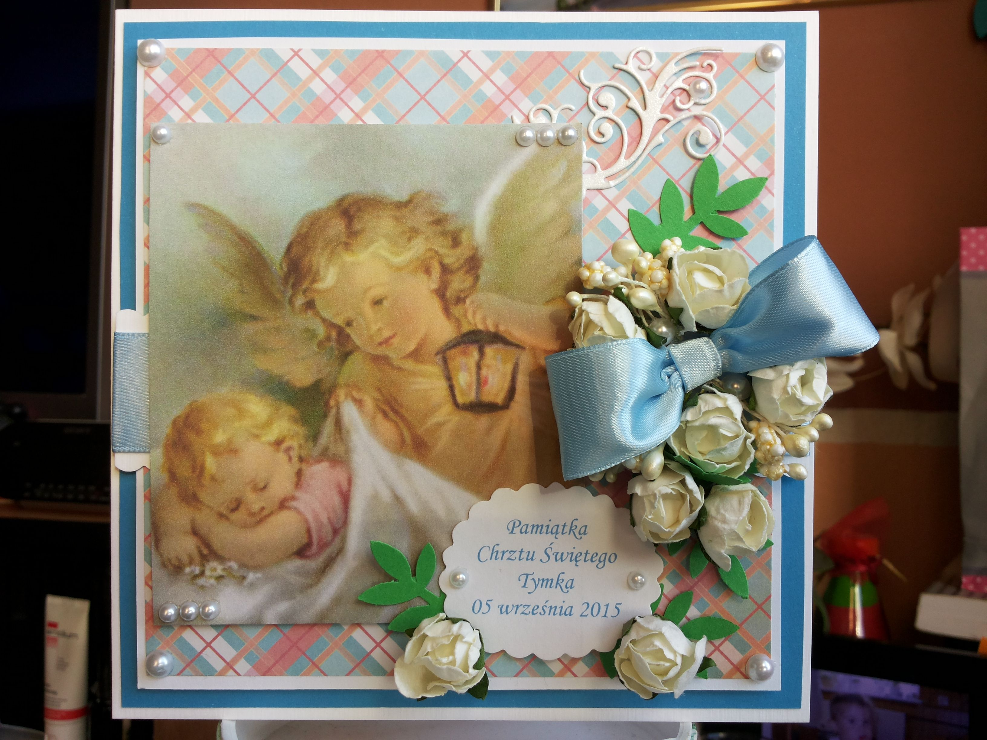 Pamiatka Chrztu Swietego A Reminder Of Baptism Cards