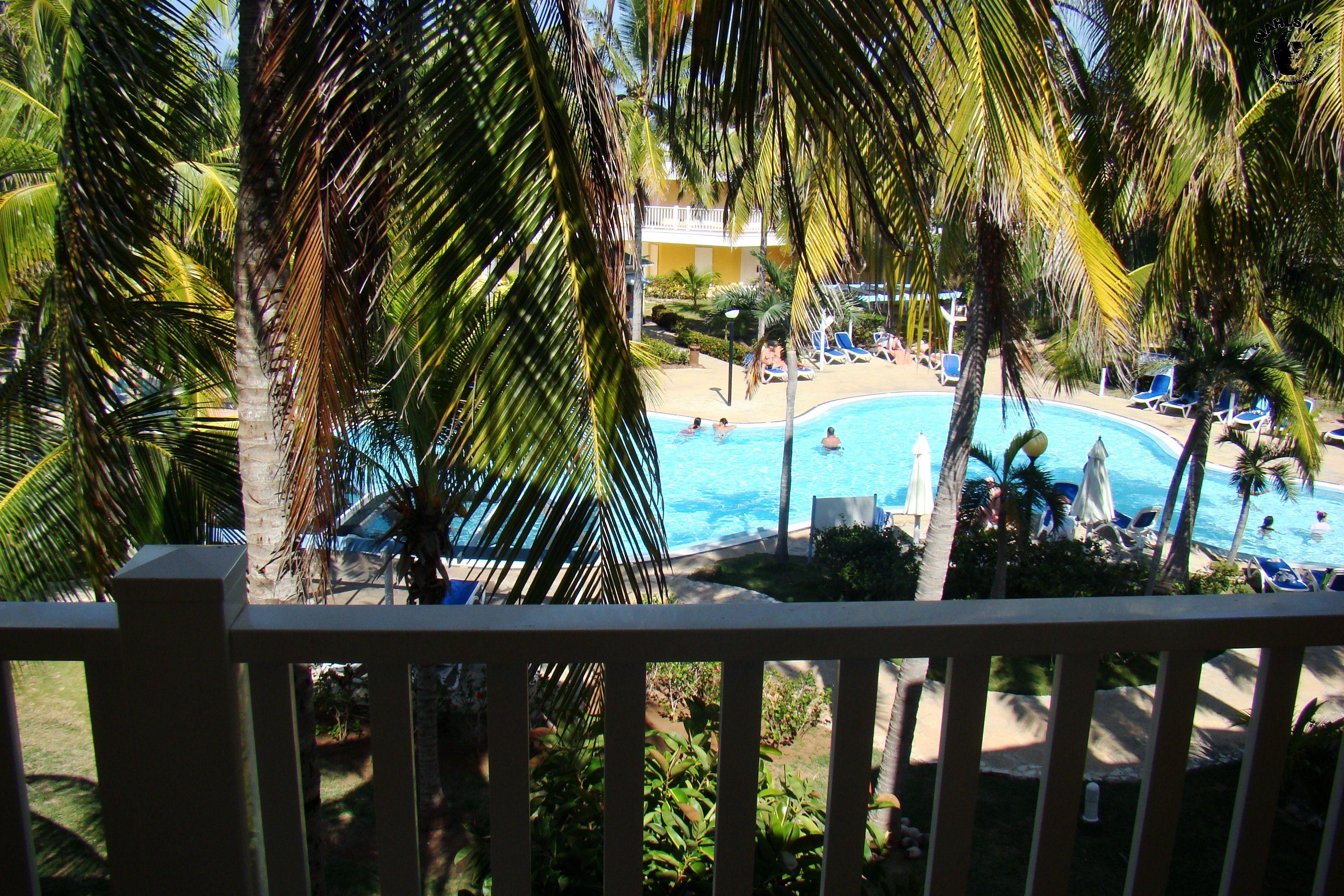 Pool Blick auf den kleinen Pool der Hotelanlage Tryp Cayo Coco