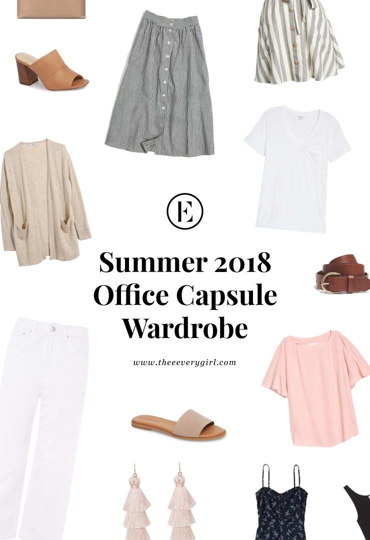 Summer 2018 Office Capsule Wardrobe Capsule Wardrobe Summer Work Summer Capsule Wardrobe Capsule Wardrobe Work