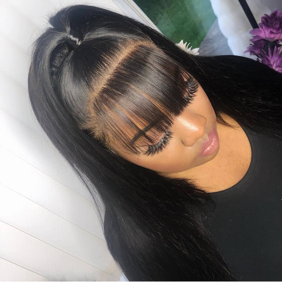 Silky Straight 360 Lace Front Wigs