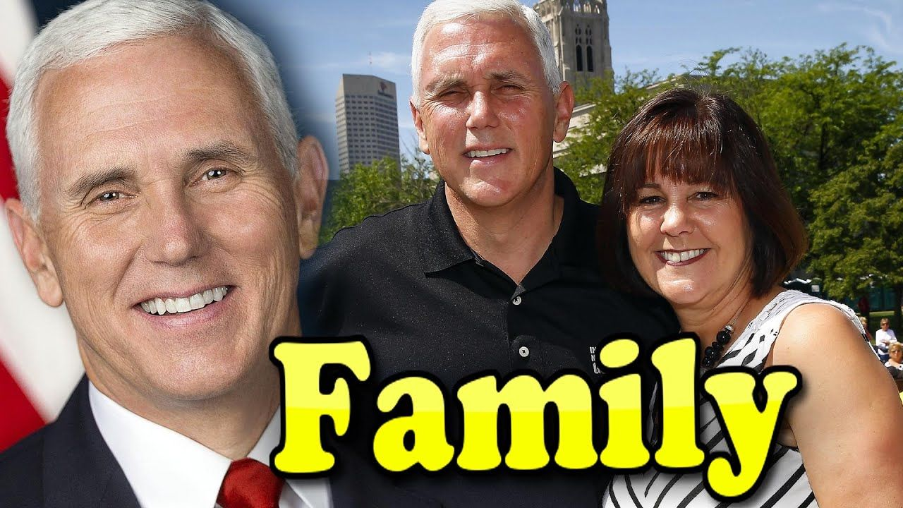 Mike Pence Family With Children And Wife Karen Pence 2019 Mike Pence Family Karen Pence Sports Gallery