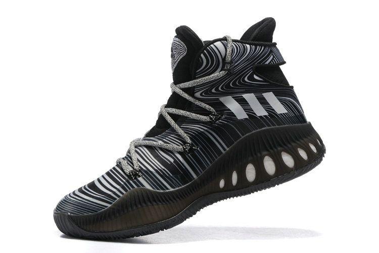 best cheap 2b44d a5411 Free Shipping Only 69  adidas Crazy Explosive John Wall Black White stripe