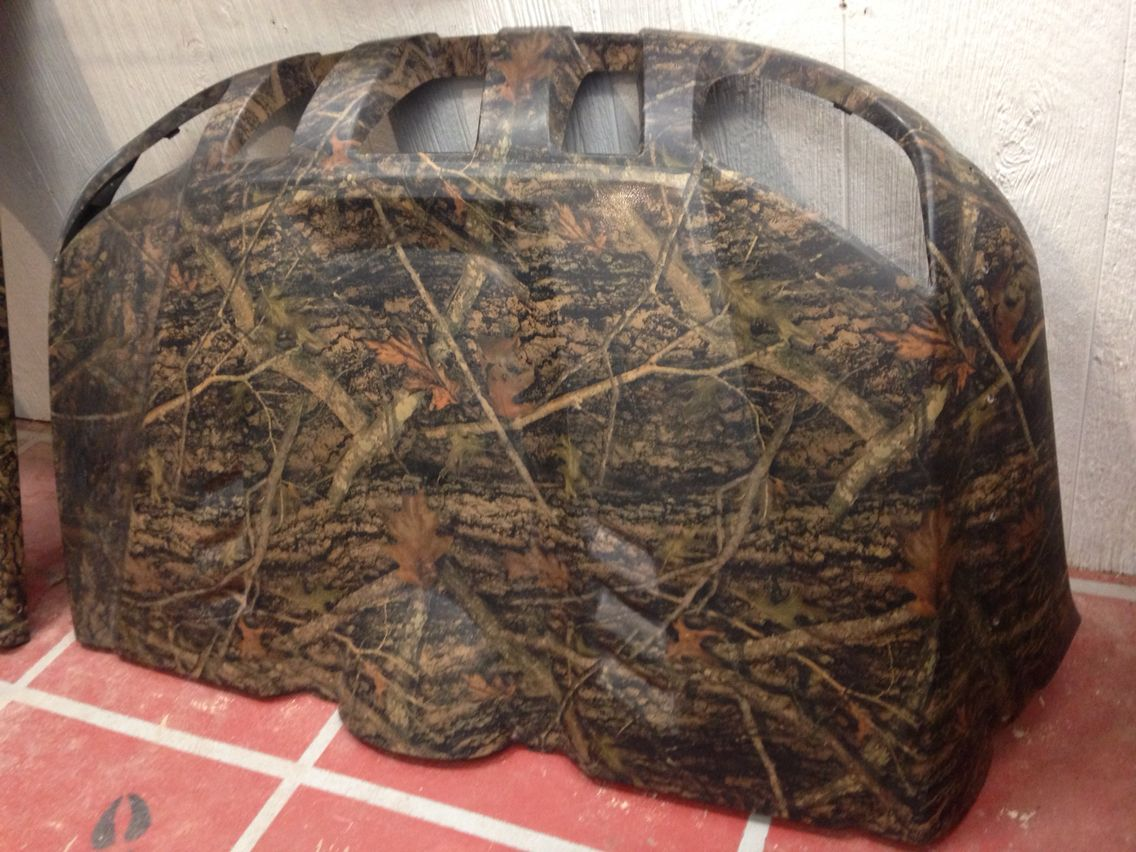 Rhino atv parts hydro dipped in true timber conceal | TTS