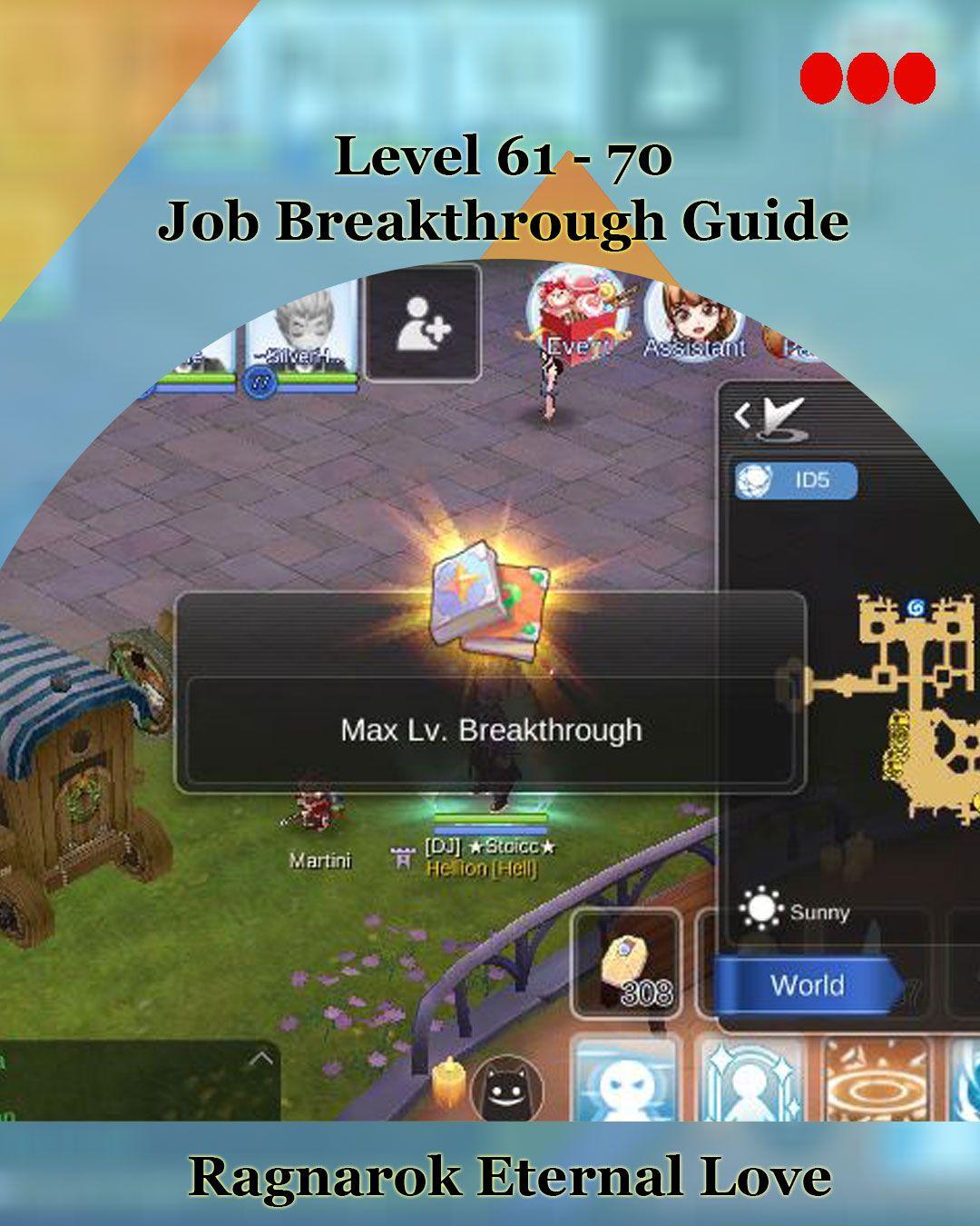Increase Your Job Level Cap With This Guide Ragnarokmobile Gaming Gamerstopia Ragnarok Mobile Breakthrough Job