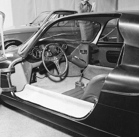Aguzzoli Condor Alfa Romeo 1964 - Interieur (© Max Pichler)