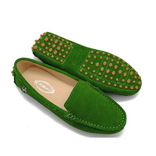 Meijili , Damen Durchgängies Plateau Sandalen , grün - waldgrün - Größe: 40