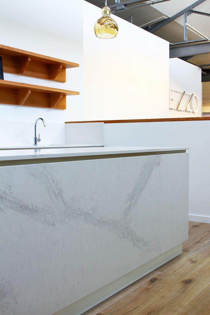 Mezzo Apartments featuring Caesarstone Calacatta Nuvo marble ...
