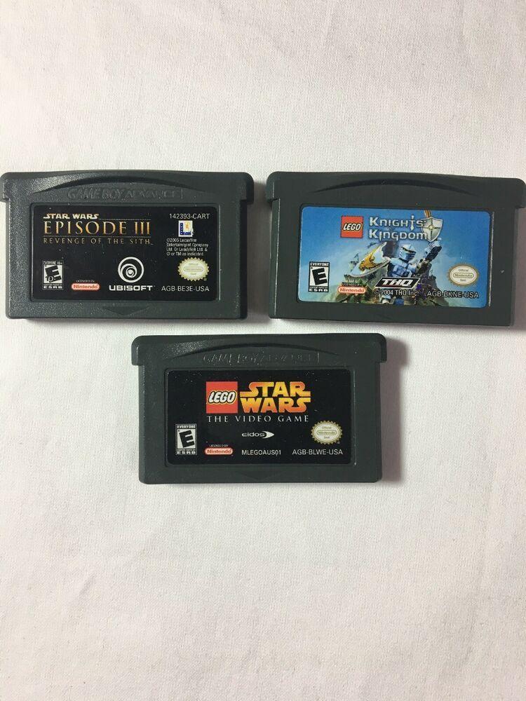 Nintendo Gameboy Advance Star Wars Legostar Wars Episode Iii