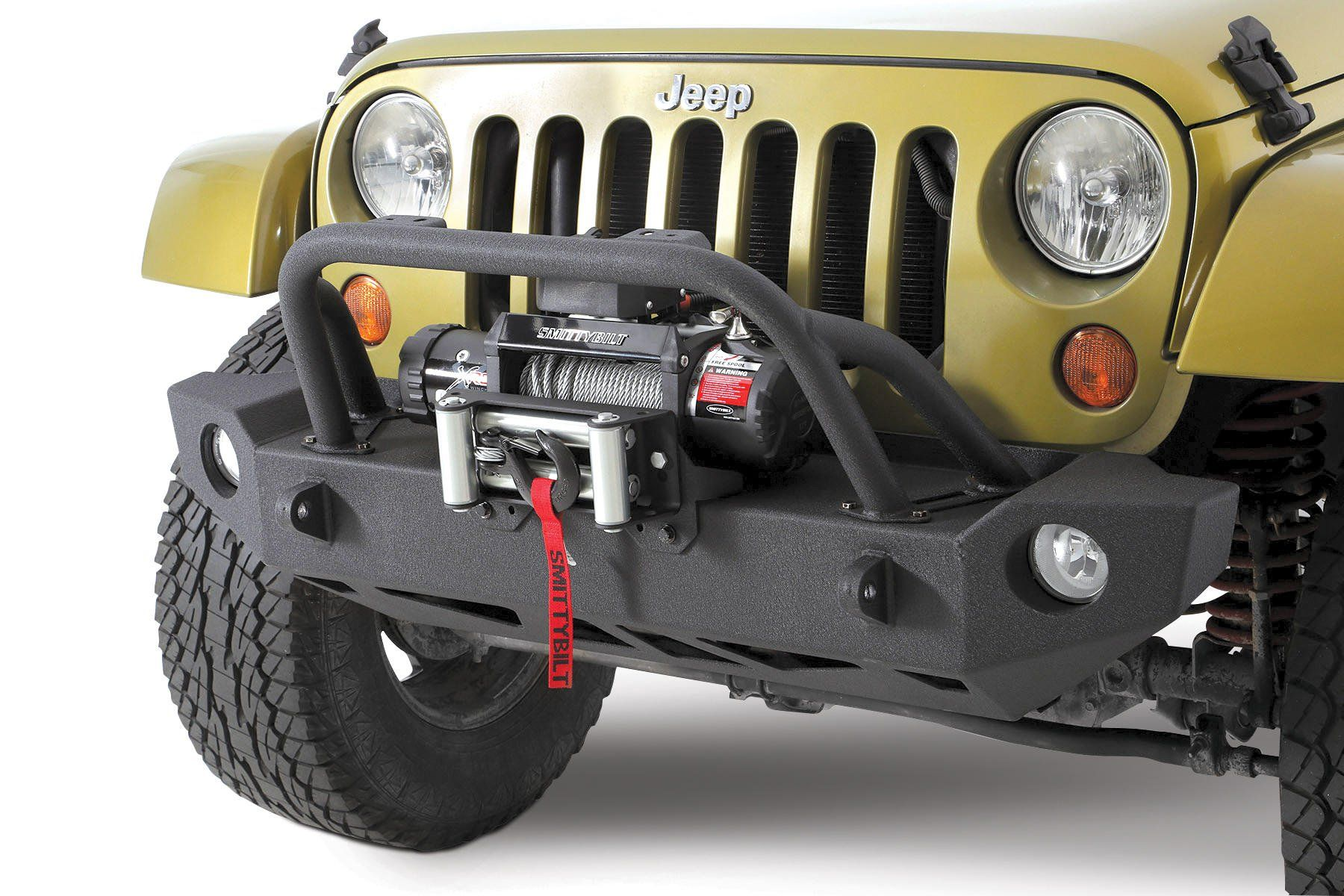 No Longer Does A Limited Budget Mean Capability For Your Jeep Wrangler Jk Accessories Smittybilt Src Carbine Front Bumper Unlimited
