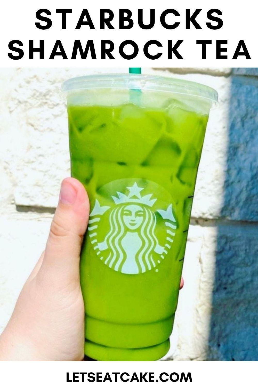 How To Order The Starbucks Shamrock Tea That S Going Viral On Tiktok In 2021 Iced Matcha Green Tea Latte Matcha Green Tea Latte Green Tea Latte