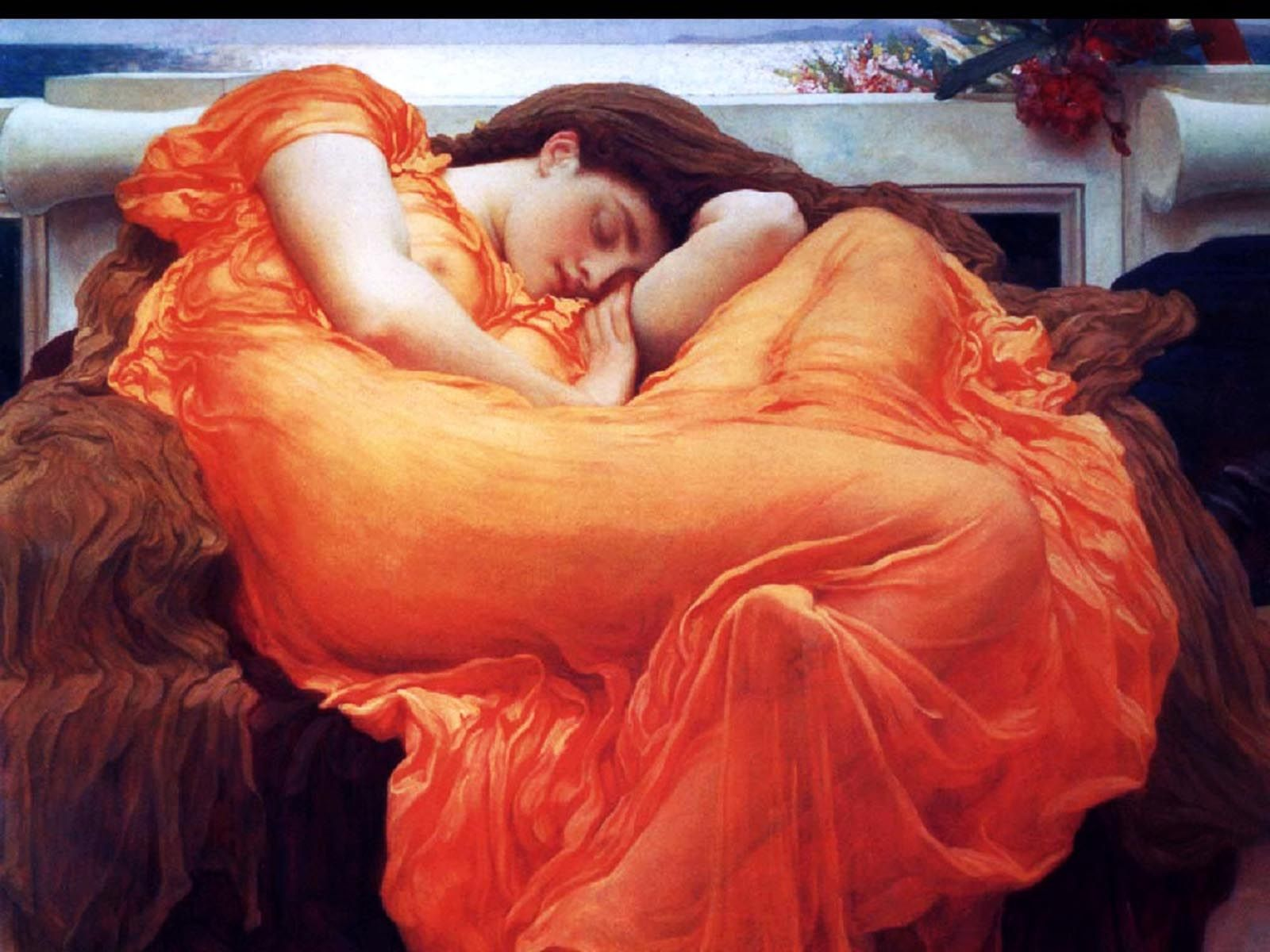 Flaming June - Lord Frederick Leighton