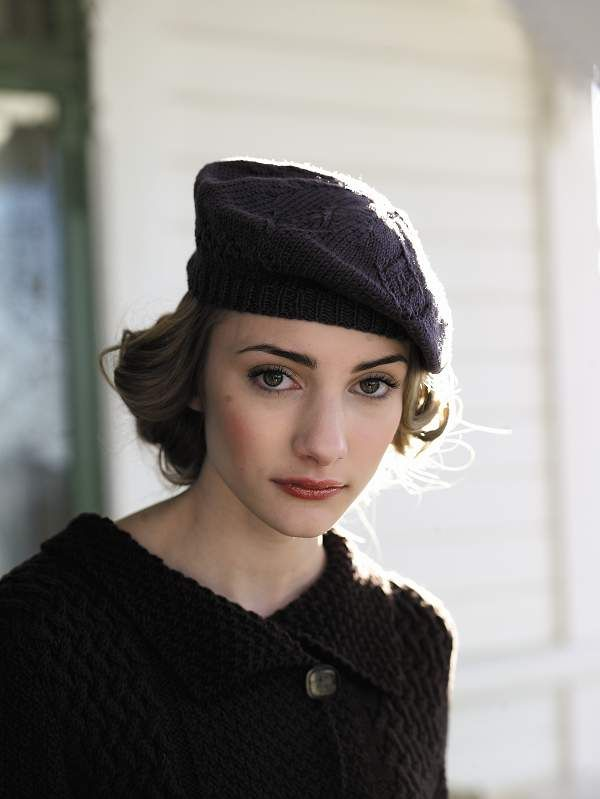 1940s Style Beret Knitting Pattern From Rowan Yarns Modest Doesn