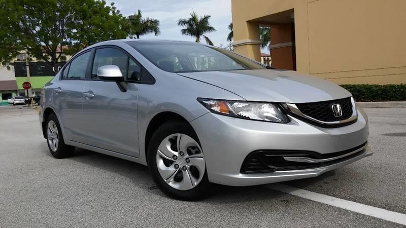 Honda Fort Lauderdale >> 2013 Honda Civic Lx 4dr Sedan 5a In Fort Lauderdale Fl