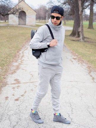 How To Wear Grey Sneakers 115 Looks Men S Fashion Stylish Mens Outfits Grey Sneakers Outfit Mens Outfits