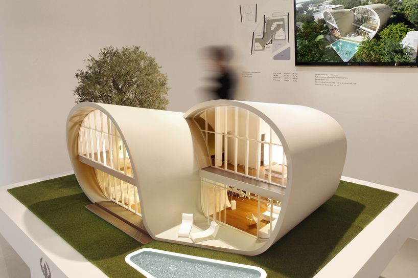 the moebius house on jeju island by planning korea