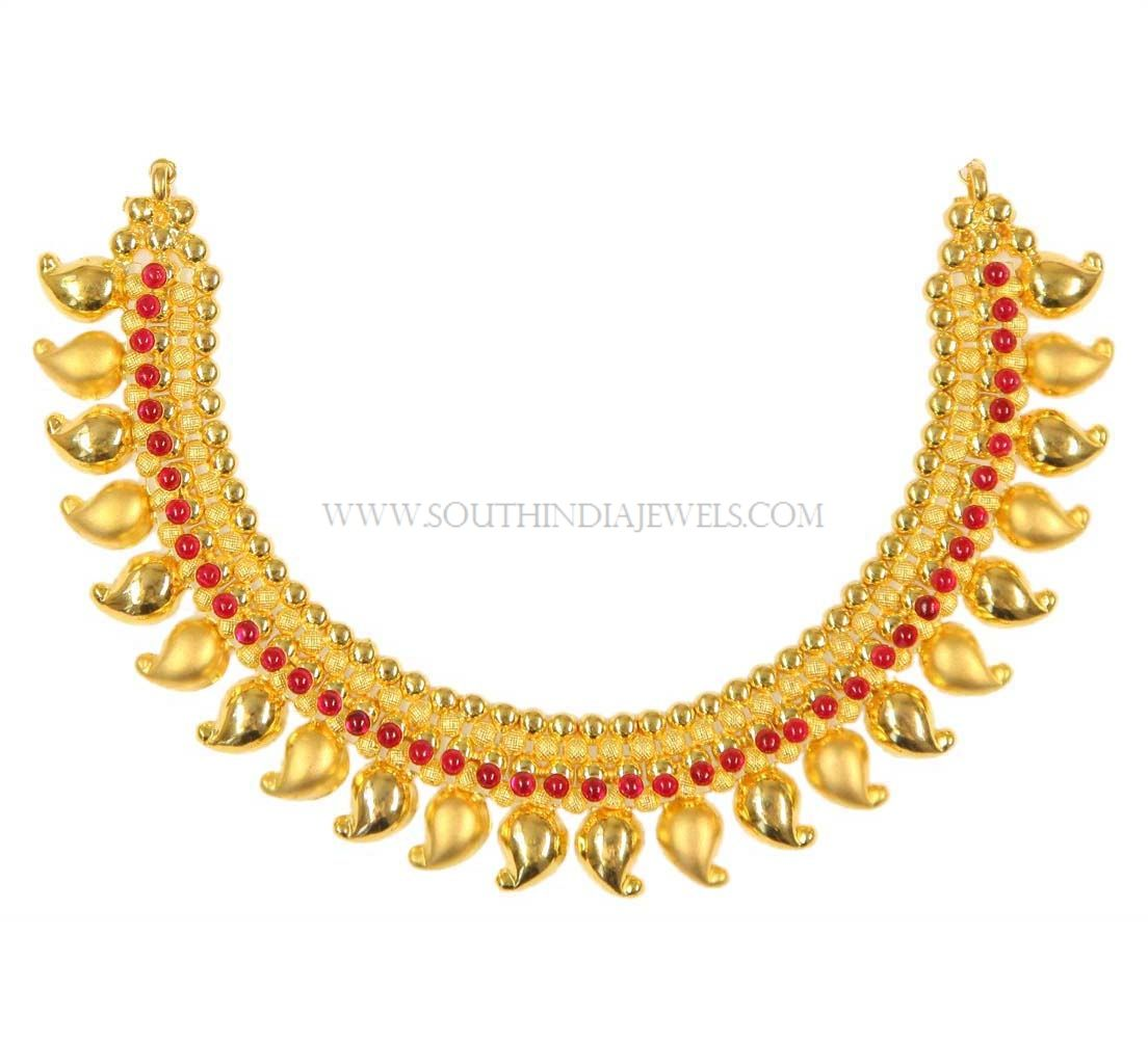 Gold Necklace Design in 40 Grams   Necklace designs, Gold ...